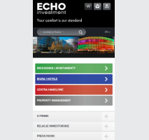 Echo Investment - wersja mobilna